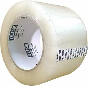 Packing Tape 3 Inch X 110 Yard 2 6 Mil Crystal Clear Industrial Plus Tape By Ul