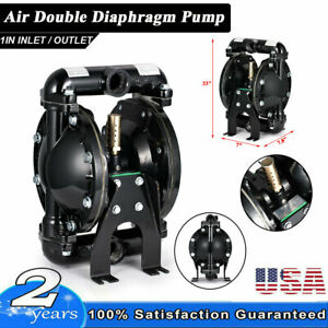 35gpm Air operated Double Diaphragm Pump 1 Outlet Petroleum Fluids 1 Inlet