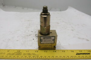 Vickers Rv3 10s 8t 27 Hydraulic Relief Valve