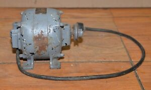 Antique General Electric Ac Motor 1 6 Hp Model 26135 Jewelers Early Lathe Tool