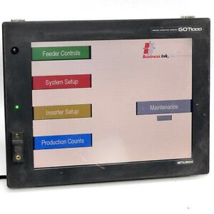 Mitsubishi Gt1585 stba Got1000 Graphic Operation Terminal Hmi Color Touchscreen