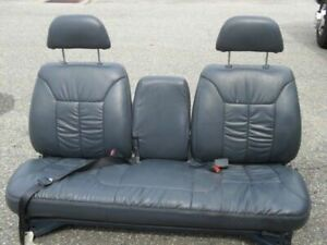 Blue Leather Chevy Silverado Gmc Sierra Seat Front Or Rear C K Bench