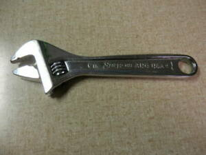 Snap on Tools Ad6 Adjustable Wrench 6 Inch 150mm Made In Usa