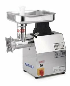 Atosa Usa Ppg 12 Countertop Electric Meat Grinder 12 Hub 250 Lbs hour 1 Hp