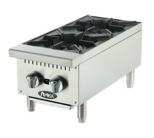 Atosa Catering Equipment Athp 12 2 Hotplate Countertop Gas
