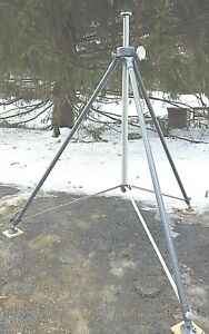 Extra tall Quickset Survey Transit Or Laser Tripod Stand 4 53031 7 Free Shipping
