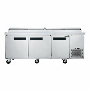Dukers Appliance Co Dpp90 90 Pizza Prep Table Refrigerated Counter