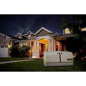 Champion 14 kw Home Standby Generator With 200 amp Whole House Automatic