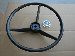 Steering Wheel And Cap For Ih International 154 Cub Lo boy 184 185 Cadet 982 984