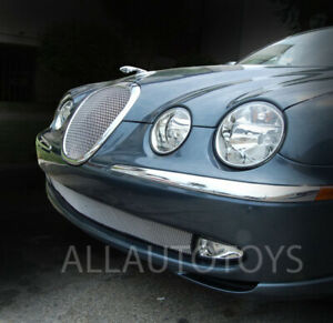 Jaguar S Type Lower Bottom Bumper Mesh Grille Replacement 1999 2004 Models