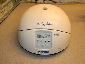 Eppendorf 5452 Minispin Microcentrifuge With F 45 12 11 Rotor And Rotor Cover
