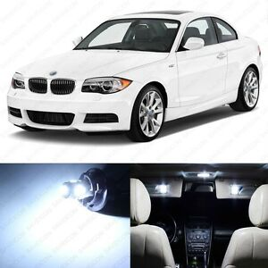 13 X White Led Interior Light Package For 2008 2013 Bmw 128i 135i 1m Tool