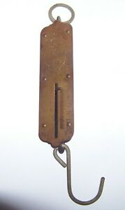 Vintage John Chatillon Sons Hanging Spring Scale