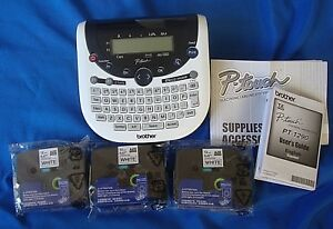 Brother P touch Electronic Labeling System Pt 1290 Used Once