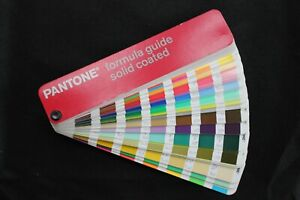 Set Of 6 Pantone Color Guides solid Process Solid To Process Coated uncoated