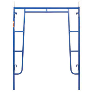 5 X 6 4 Section Of Blue Heavy Duty Scaffold Walk Thru Scaffold Package