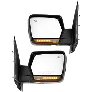 Kool Vue Mirror Set For 2007 2008 Ford Expedition Chrome Left Right 2pc