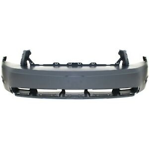 Front Bumper Cover For 2010 2012 Ford Mustang W Fog Lamp Holes Primed