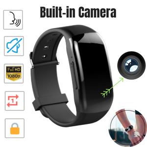 Spy Digital Voice Activated Recorder Watch Hidden Microphone With Camera 32gb