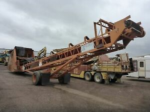 Kolberg 130 50 Portable Dozer Trap Feeder Conveyor Stacker stock 2501