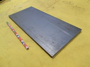 1018 Cr Steel Flat Bar Stock Tool Die Rectangle Plate 3 8 X 5 1 2 X 12 Oal