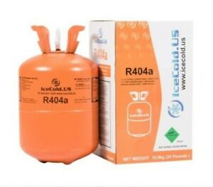 R404a R404 R 404 404a Refrigerant 24lb Tank New Full And Factory Sealed