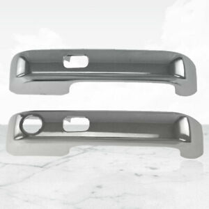 2pc Chrome Door Handle Covers For 2015 2017 Ford F 150 2dr W Smart Key