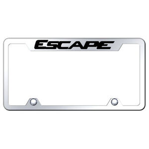 Mirrored Truck License Plate Frame Officially Licensed For Ford Escape