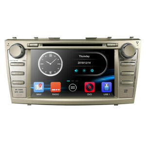 8 For Toyota Camry 2007 2011 Gps Navigation Car Radio Stereo Dvd Player Bt map