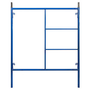 5 X 6 4 Section Of Blue Heavy Duty Scaffold Quality Steel Mason Frames