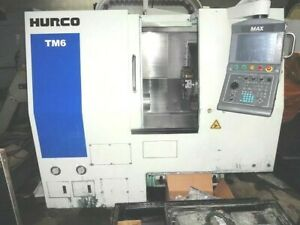 Hurco Tm 6 Cnc Lathe New 2011 will Ship At Your Expense