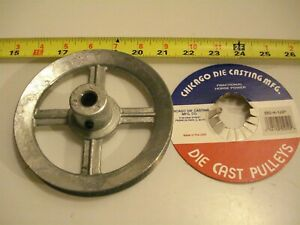 0441 Die Cast Pulley 5 1 2 Dia 1 2 Bore V belt A