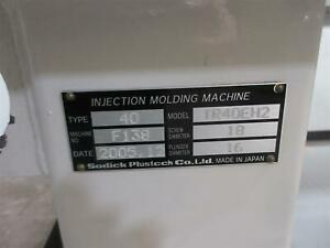 40 Ton Sodick Injection Molding Machine Model Tr40eh2 2005