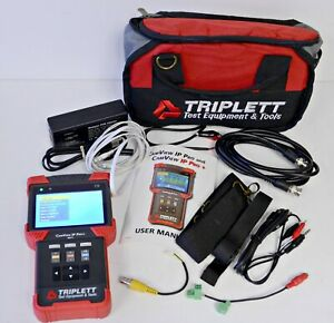 Triplett Camview Ip Pro 8071 Camera Tester With Dhcp Server Case