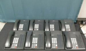 Lot Of 8 Charcoal Toshiba Dkt 3020s Office Phone Telephone Sets Dkt3020s Tested