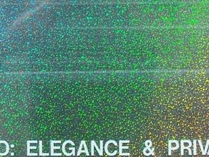 Holographic Window Tint Film 20 X100 Rl You Pick Your Design From Three Choices