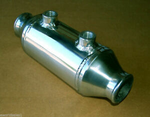 2 25 4 x 6 Turbo Barrel Water Liquid To Air Intercooler Aluminum