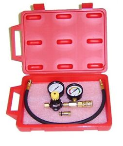 Dual Gauge Cylinder Leak Down Tester made In The Usa With Storage Case New