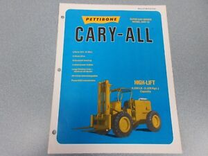 Rare Pettibone Cary All Super 8ar Sales Sheet