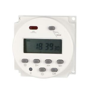 Dc 24v Digital Lcd Display Power Programmable Timer Time Switch Relay 16a