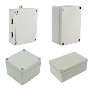 Various Sizes Metal Aluminum Junction Box Universal Electric Project Enclosure