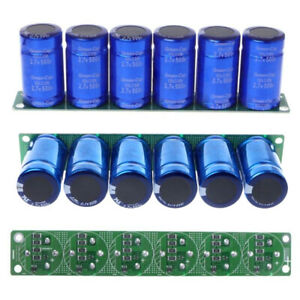 Farad Capacitor 2 7v 500f Super Farad Capacitance With Protection Board Set