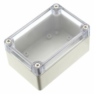 100 68 50mm Electronical Abs Plastic Junction Project Box Enclosure Case Clear
