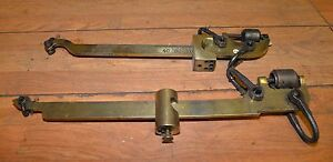 2 Polished Brass Antique Scale Fairbanks Buffalo 100 Lb Weight Collectible Tools