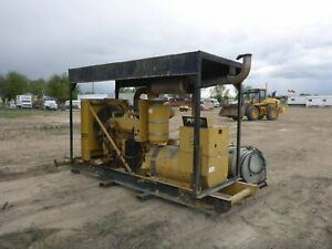 Kato 247 Kw Skid Mounted Diesel Gen Set Generator stock 2143