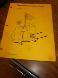 Prime Mover Forklift Oe15c Truck Operating service maintenance Part Manual oe15c