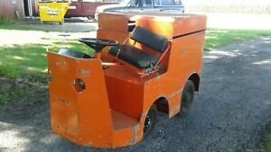 Taylor Dunn Tow Tractor Model P2 50 Only 1467 Hours