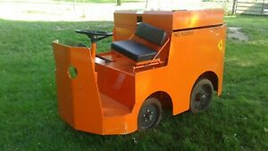 Taylor Dunn Tow Tractor Model P2 50 Only 8 Original Hours
