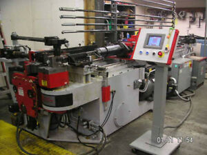 2007 Techno Industrial T50hd Rotary Draw Tube Bender Used