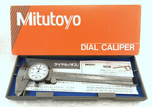 Mitutoyo 505 637 50 0 6 Range 001 Dial Caliper With Case